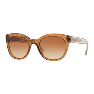 Burberry Women's BE4210 356413 Brown Plastic Phantos Sunglasses