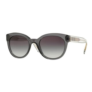 Burberry Women's BE4210 35448G Grey Plastic Phantos Sunglasses