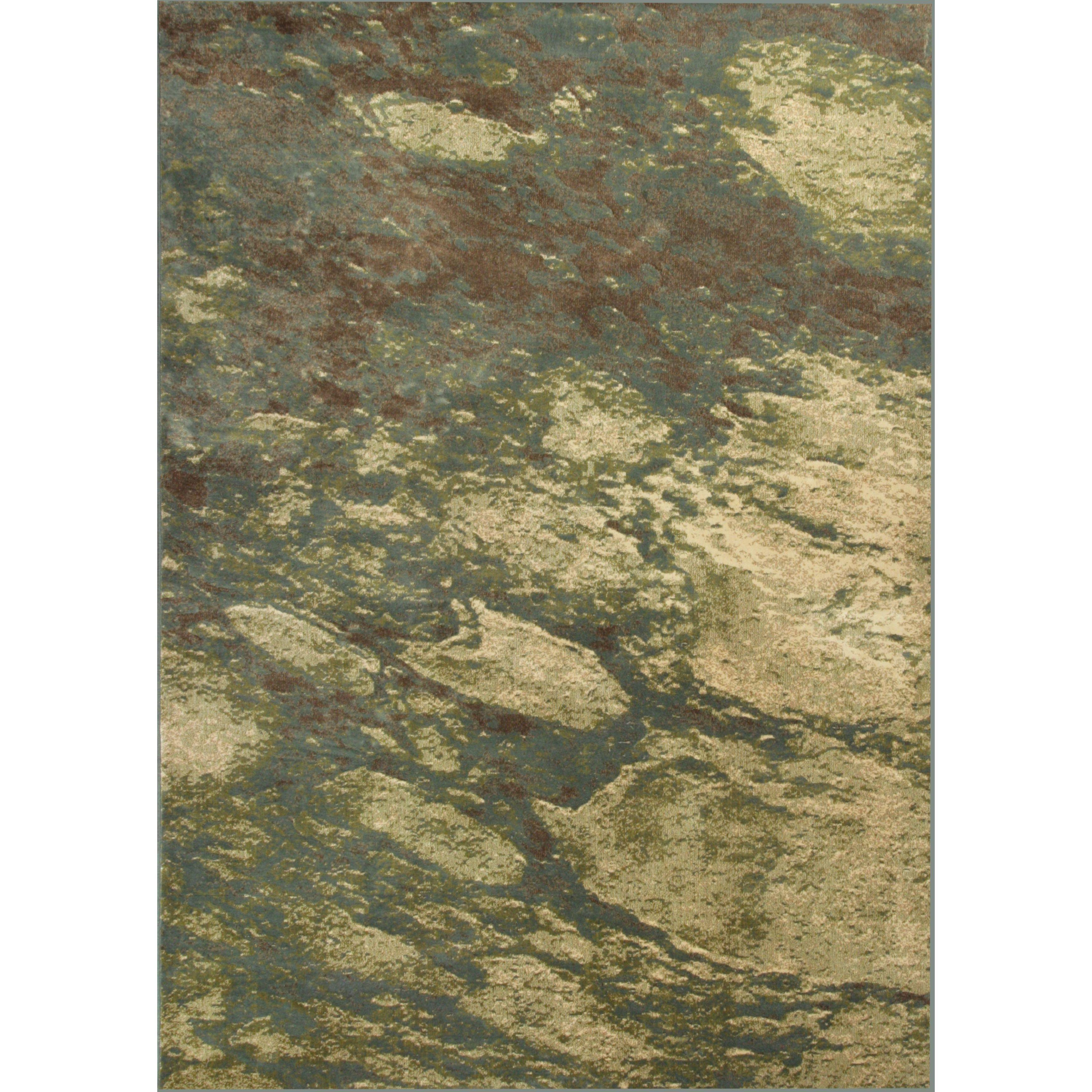 "KAS Versailles 8561 Seafoam Palette (7'10"" x 11'2"") Rug (..."
