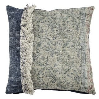 20-inch x 20-inch Square Cotton Pillow