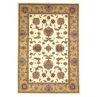 "Cambridge 7344 Ivory/Beige Bijar 7'7"" Octagon Rug"
