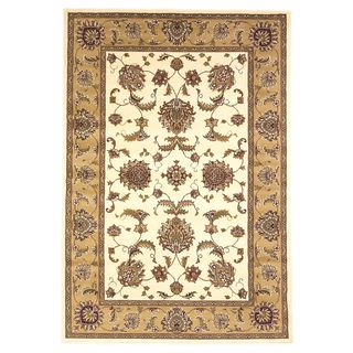 "Cambridge 7344 Ivory/Beige Bijar (7'7"" x 10'10"") Rug"