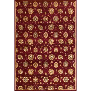 "Cambridge 7350 Red Tabriz Panel (7'7"" x 10'10"") Rug"