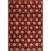 Cambridge Red Tabriz Panel Rug - 7'7 x 10'10