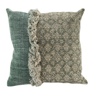 Square Cotton 20-inch x 20-inch Pillow