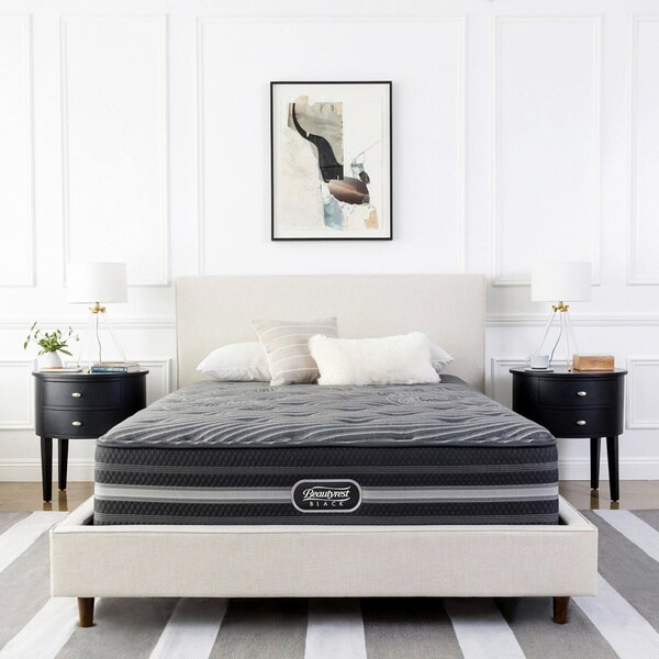 Shop Beautyrest Natasha Black Luxury Firm Pillow Top