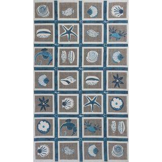 Serafina 2914 Beige Oceana (8' X 10') Rug