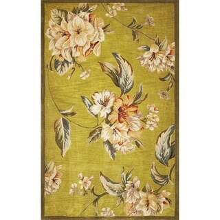 Sparta 3194 Pistachio Floral Elegance Rug (8'6 x 11'6)