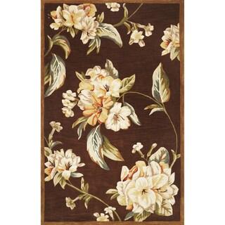 Sparta 3192 Mocha Floral Elegance Rug (8'6 x 11'6)