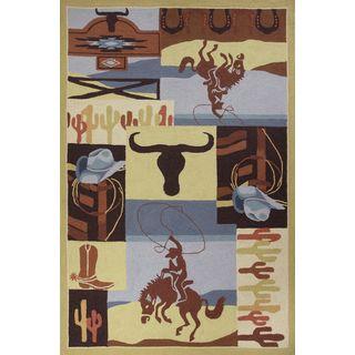 """Colonial 1835 Sourthwest Deam (8' x 10'6"""") Rug"""