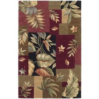 "Sparta 3163 Jeweltone Foliage Views (8'6"" x 11'6"") Rug"