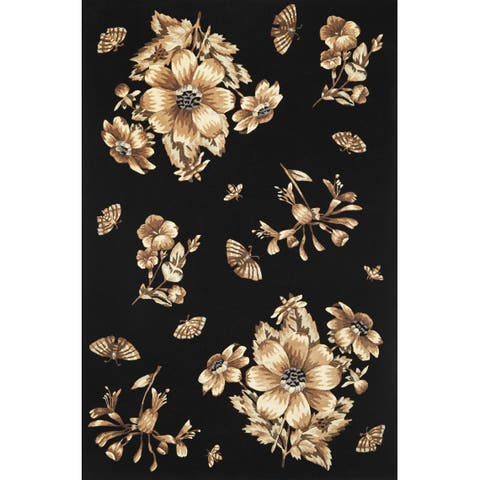 Ruby 8880 Black Elegance Rug
