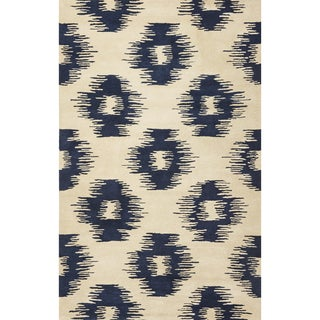 Tapestry 6801 Ivory/ Blue Simplicity Rug (8' x 10'6)