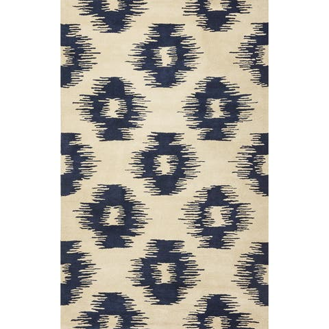 Tapestry 6801 Ivory/ Blue Simplicity Rug