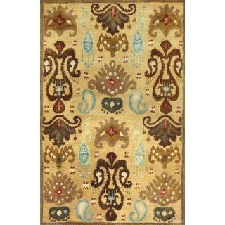 "Tapestry 6812 Gold Ferozi (8' x 10'6"") Rug"