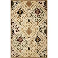 Tapestry 6804 Ivory/ Beige Panel Rug - 8' x 10'