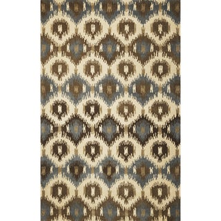 Tapestry 6810 Ivory Allover Mosaic Rug (8' x 10'6)
