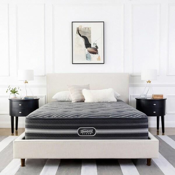 Beautyrest Black Natasha Queen-size Luxury Firm Pillow-top Mattress Set - N/A