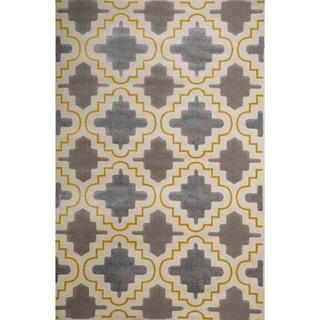 Christopher Knight Home Vita Faith Geometric Pearl Rug (5' x 8')