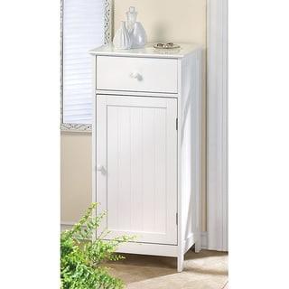 Kentucky White MDF/ Wood Cabinet