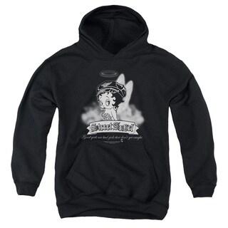 Boop/Street Angel Youth Pull-Over Hoodie in Black