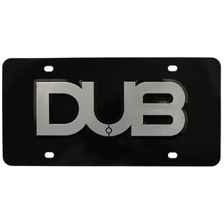 Pilot Automotive Aluminum 3D DUB Vehicles Automobile License Plate Frame