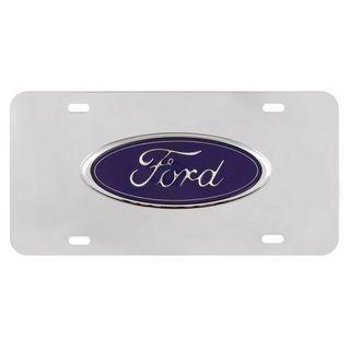 Pilot Automotive Ford Chrome 3D Vehicles Automobile License Plate