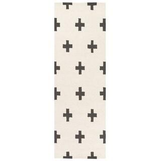Hand-Tufted Pall Wool Rug