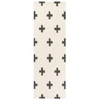 Hand-Tufted Pall Wool Rug (2'3 x 10')