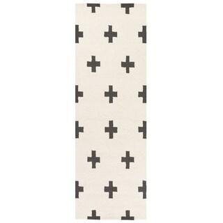 Hand-Tufted Pall Wool Rug - 2'3 x 10'