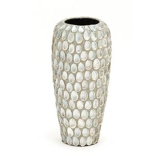 Multicolor Ceramic Seashell Table Vase