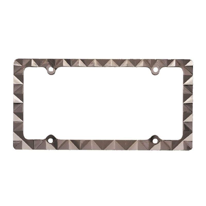 Pilot Automotive Black Diamond License Plate Frame for Ve...