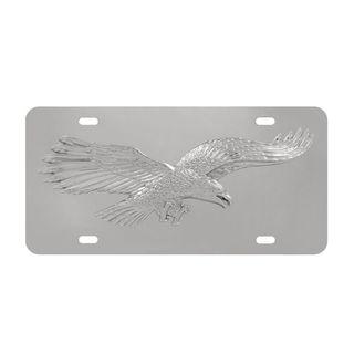 Pilot Automotive Eagle Chrome 3D Vehicles Automobile License Plate