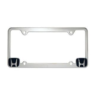 Pilot Automotive Chrome Honda License Plate Frame for Vechicles Automobile