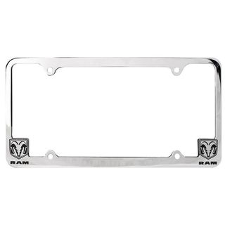 Pilot Automotive Chrome GMC License Plate Frame for Vechicles Automobile