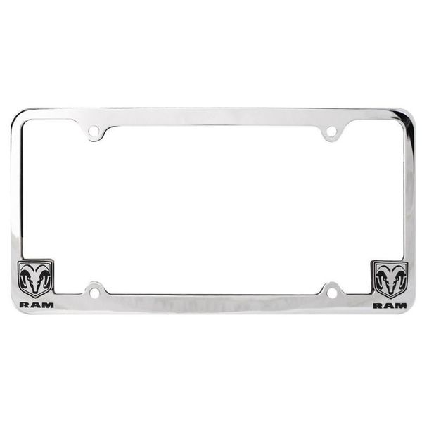 Pilot Automotive Chrome GMC License Plate Frame for Vechicles ...
