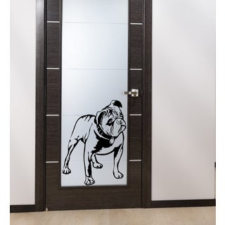 English bulldog dog Wall Art Sticker Decal
