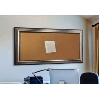 American Made Rayne Antique Silver Corkboard|https://ak1.ostkcdn.com/images/products/11874766/P18772722.jpg?impolicy=medium