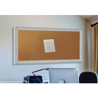 American Made Rayne French Victorian White Corkboard