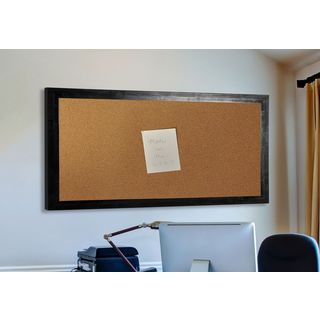 American Made Rayne Black Smoke Corkboard