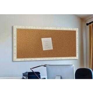 American Made Rayne Tuscan Ivory Corkboard