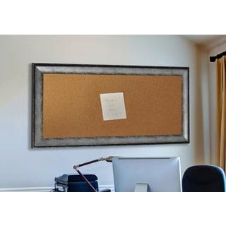 American Made Rayne Sterling Charcoal Corkboard