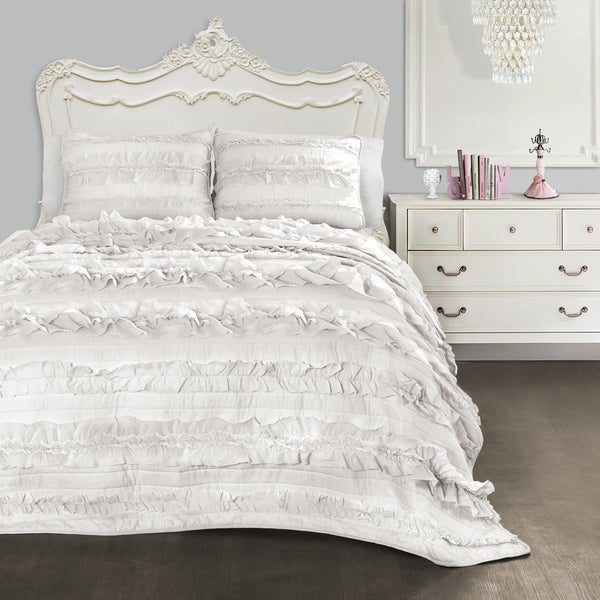 Shop Lush Decor Belle 40piece Quilt Set Free Shipping Today Cool Lush Decor Belle Bedding