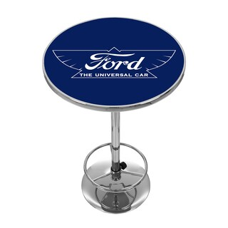 Ford Chrome Pub Table - The Universal Car