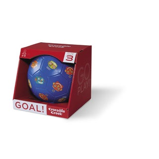 Crocodile Creek Kid's 7-inch Blue Robots Size-3 Soccer Ball