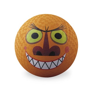 Crocodile Creek Creetures Orange Rubber 7-inch Monster Playground Ball