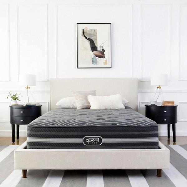 0e7801c4d46 Shop Beautyrest Black Katarina Plush Pillow Top Queen-size Mattress ...