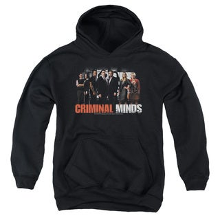 Criminal Minds/The Brain Trust Youth Pull-Over Hoodie in Black