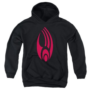 Star Trek/Borg Logo Youth Pull-Over Hoodie in Black