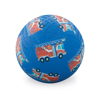 Crocodile Creek 7-inch Blue Fire Engines Playground Ball